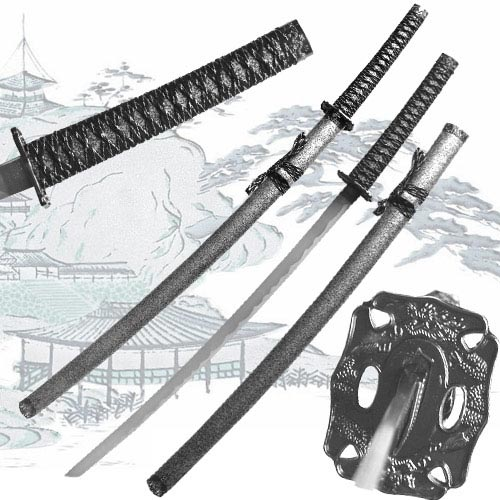 Samurai warrior katana