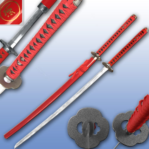 Blood Groove Hand Made Katana samurai sword