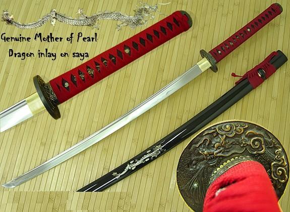 Bushido Japanese Swords Blood Dragon Katana