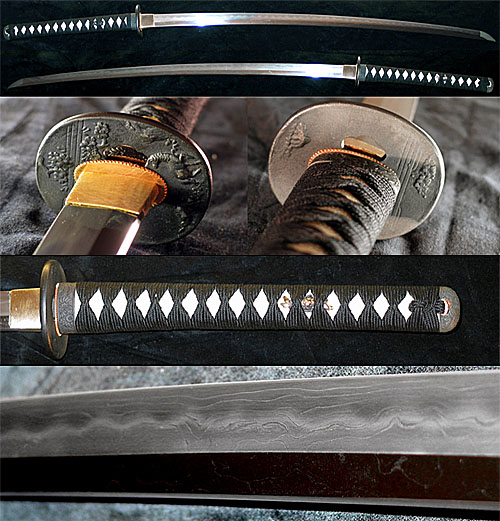 Dynasty Forge Bushi Tri-Steel Katana (29
