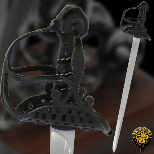 Mini English Mortuary Hilt Sword