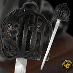 Mini Scottish Basket-Hilt Sword