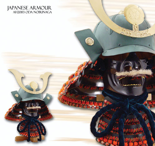 Samurai Oda Nobunaga Oda Nobunaga Kabuto Mempo