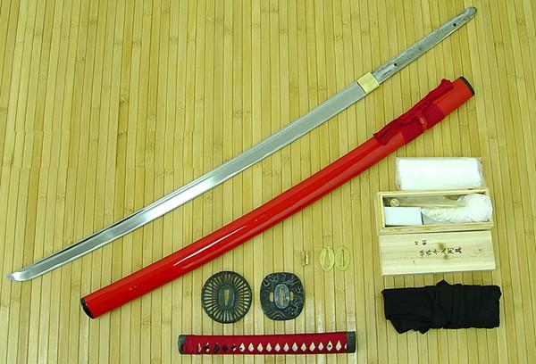 Masahiro Assemble Yourself Samurai Sword (Red)