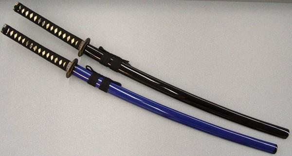 Masahiro Samurai Sword Toyotomi Hideyoshi (BLACK scabbard)