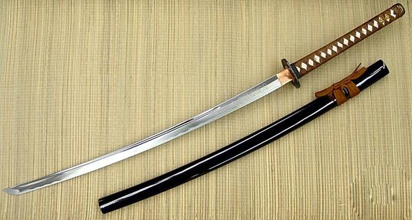 Masahiro Samurai Sword White Shadow (BROWN handle)