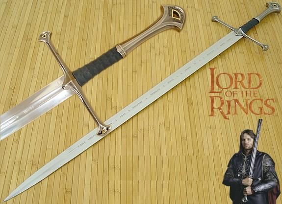 Anduril sword of aragorn