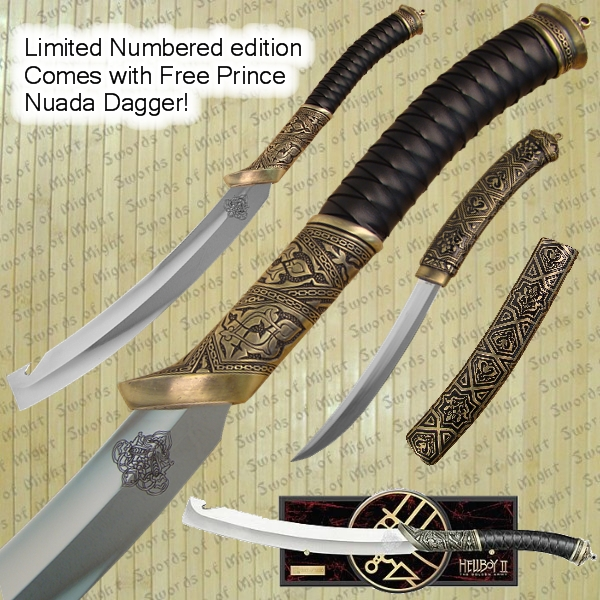 Hellboy 2 Sword of Prince Nuada