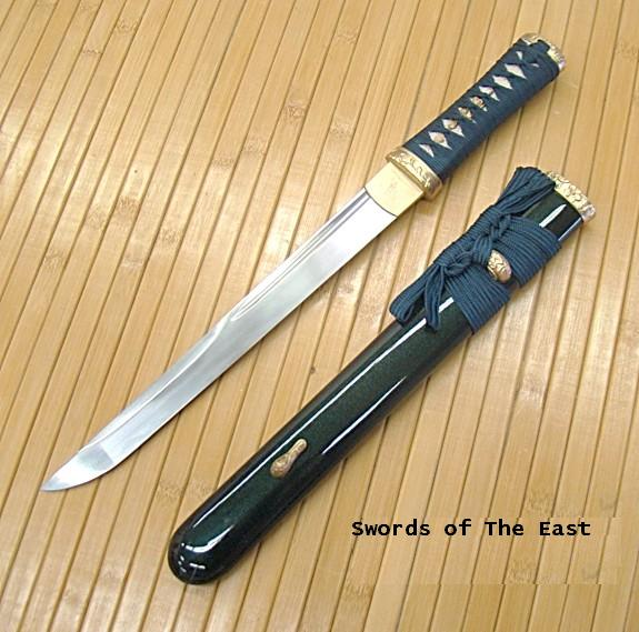 Musashi Japanese Swords Asuka Tanto (GREEN)