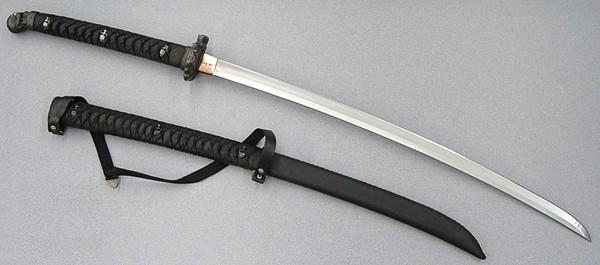 Rittersteel Japanese Swords Skull Katana