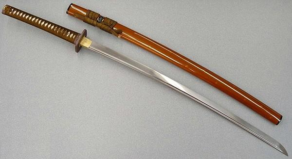 Ryumon Sword Golden Sakura Folded Katana