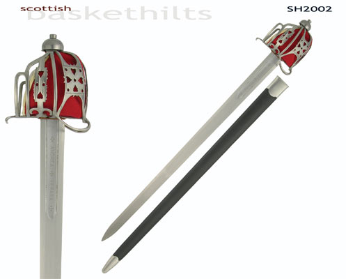 Scottish Basket Hilt Broadsword