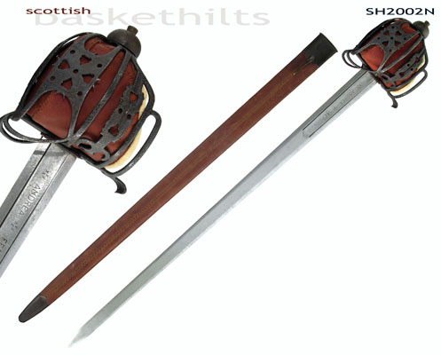 Scottish Basket-Hilt Broadsword (Antiqued)
