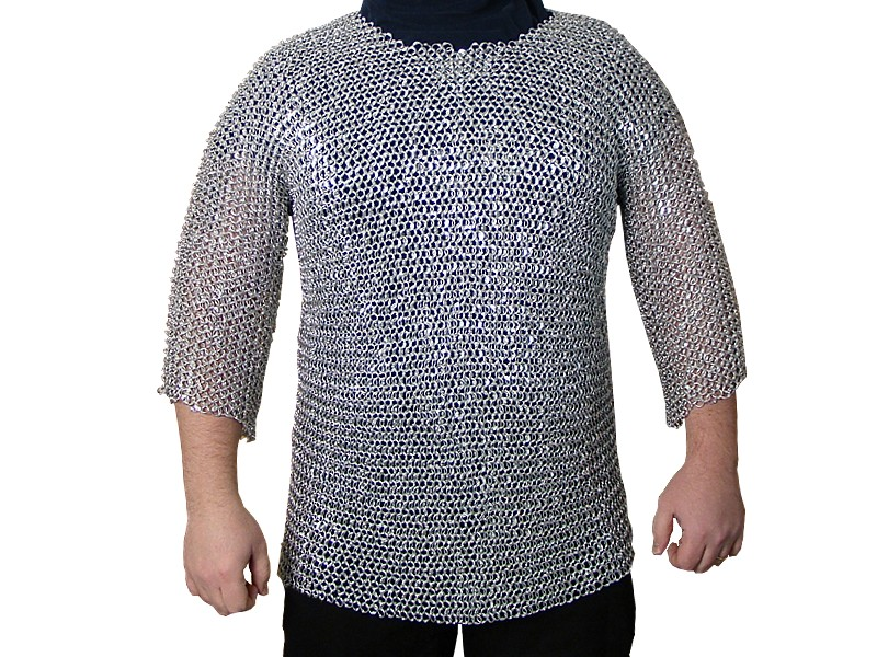 chainmail riveted aluminum shirt