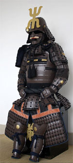 Aged Samurai Armor