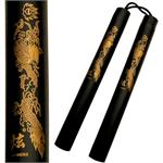 Gold Dragon Nunchaku
