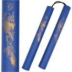 Blue Dragon Nunchaku
