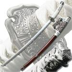 White Samurai Sword
