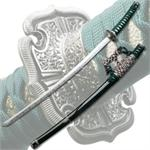 Green Samurai Sword