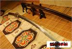 Brown Chrysanthemum Battoh Sword