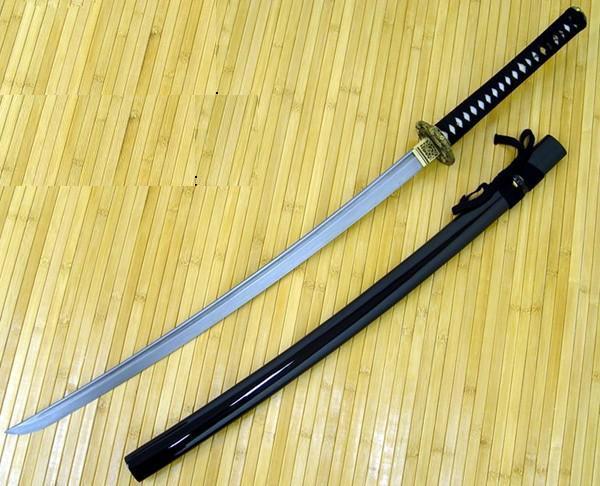 Cherry Blossom Damascus Katana Samurai Sword