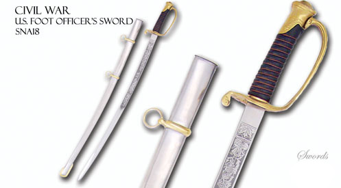 Civil War - U.S. Foot Officer's Sword