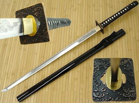 Masahiro Samurai Sword Tsunami Nin-To Katana (27 1/4