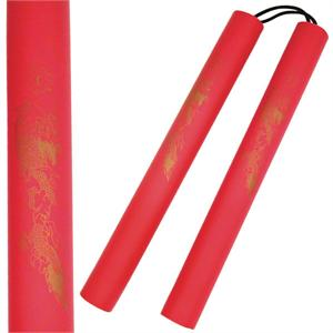 Red Dragon Nunchaku