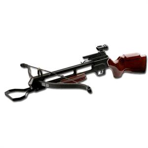 MTECH USA 150LBS PRE-STRUNG CROSSBOW WOOD STOCK
