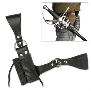 Universal Leather Sword Frog