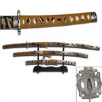 Tiger Samurai Sword Set