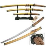 Gold Samurai Sword Set